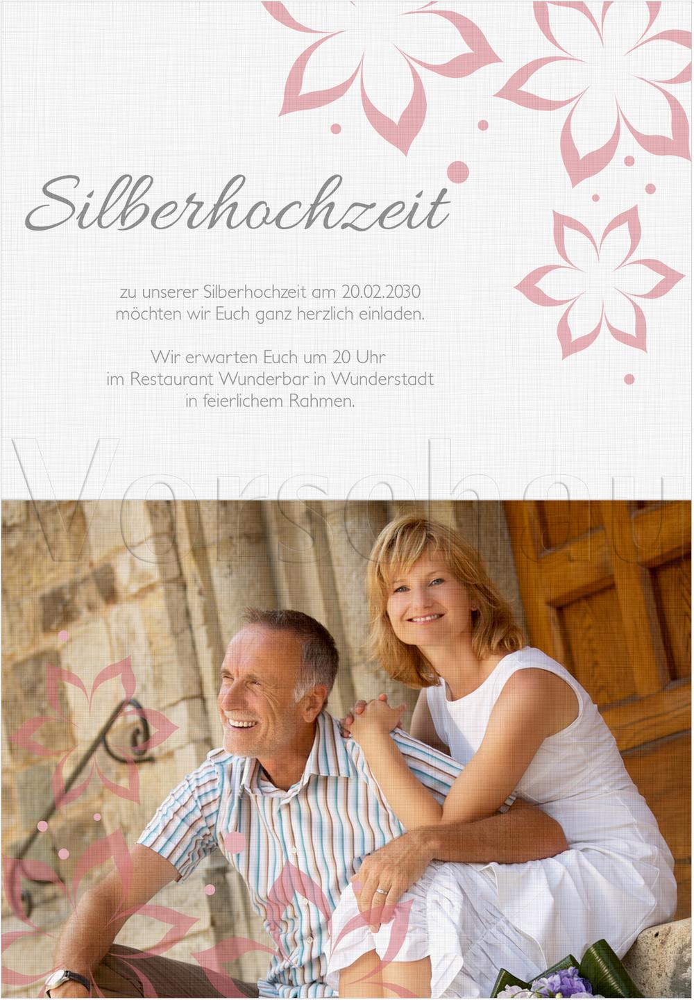Pin Einladungskarte Silberhochzeit Lustig 12 on Pinterest