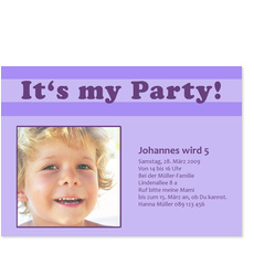 It's my Party! Jungen