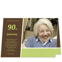 einladungskarten zum 90 geburtstag online bestellen. Black Bedroom Furniture Sets. Home Design Ideas