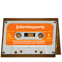 Mixtape in Orange