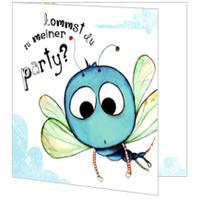 Die kleine Libelle lädt zum Fest
