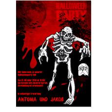 Halloween - Skelett
