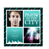 Party in the City - Türkis