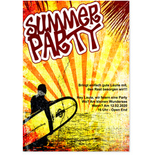 Summer Party Surfer