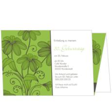 Blütenpracht in Grün