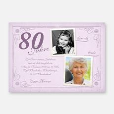80. Geburtstag