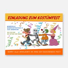 Einladungskarten Karneval