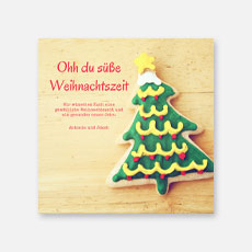 Fotoweihnachtskarten