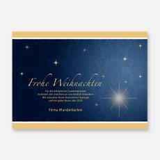 Klassische geschäftliche Weihnachtskarten