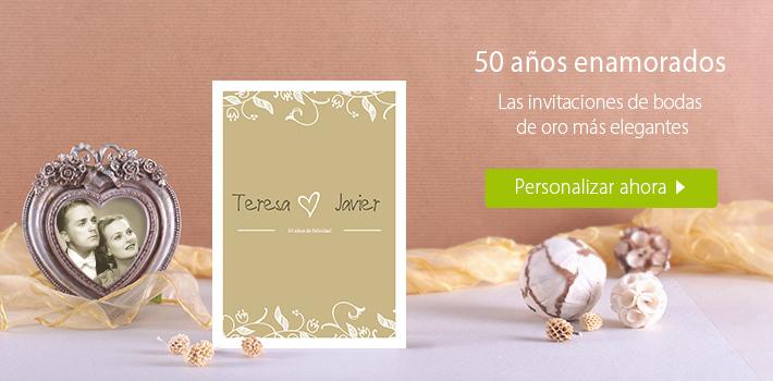 Tarjetas De Invitación Para Bodas De Oro Imagui